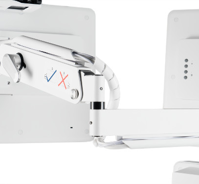 Avizia 750 Telemedicine Cart - Arm for Optional 2nd Display